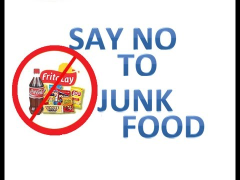 Stop Eating Junk Food Quotes
