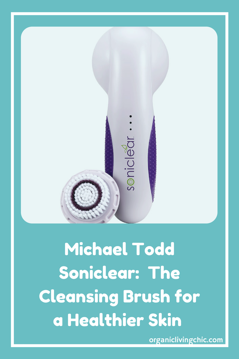 soniclear, michael todd soniclear, sonic cleansing brush, sonic cleansing system, Michael Todd Soniclear:  The Cleansing Brush for a Healthier Skin, organic skin care