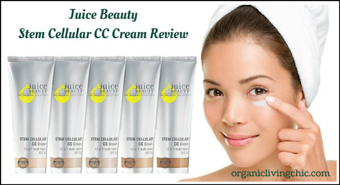 Juice Beauty Stem Cellular CC Cream Review