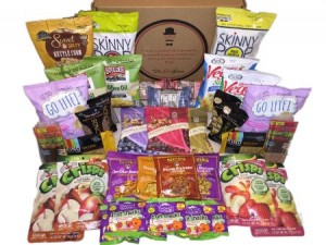 Go Green and Organic with these Healthy Christmas Gift Ideas, organic christmas gift ideas, Non-GMO, Natural and Organic Healthy Snacks Care Package