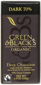 Go Green and Organic with these Healthy Christmas Gift Ideas, organic christmas gift ideas, green & black organic dark chocolate