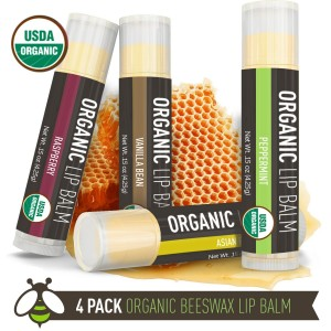 Go Green and Organic with these Healthy Christmas Gift Ideas, organic christmas gift ideas, organic lip balm